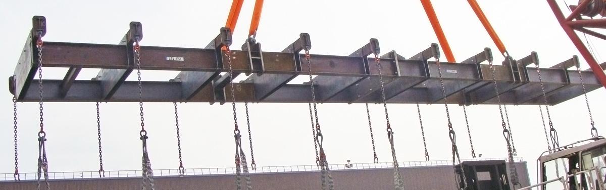 Constructions métalliques de matériel de levage